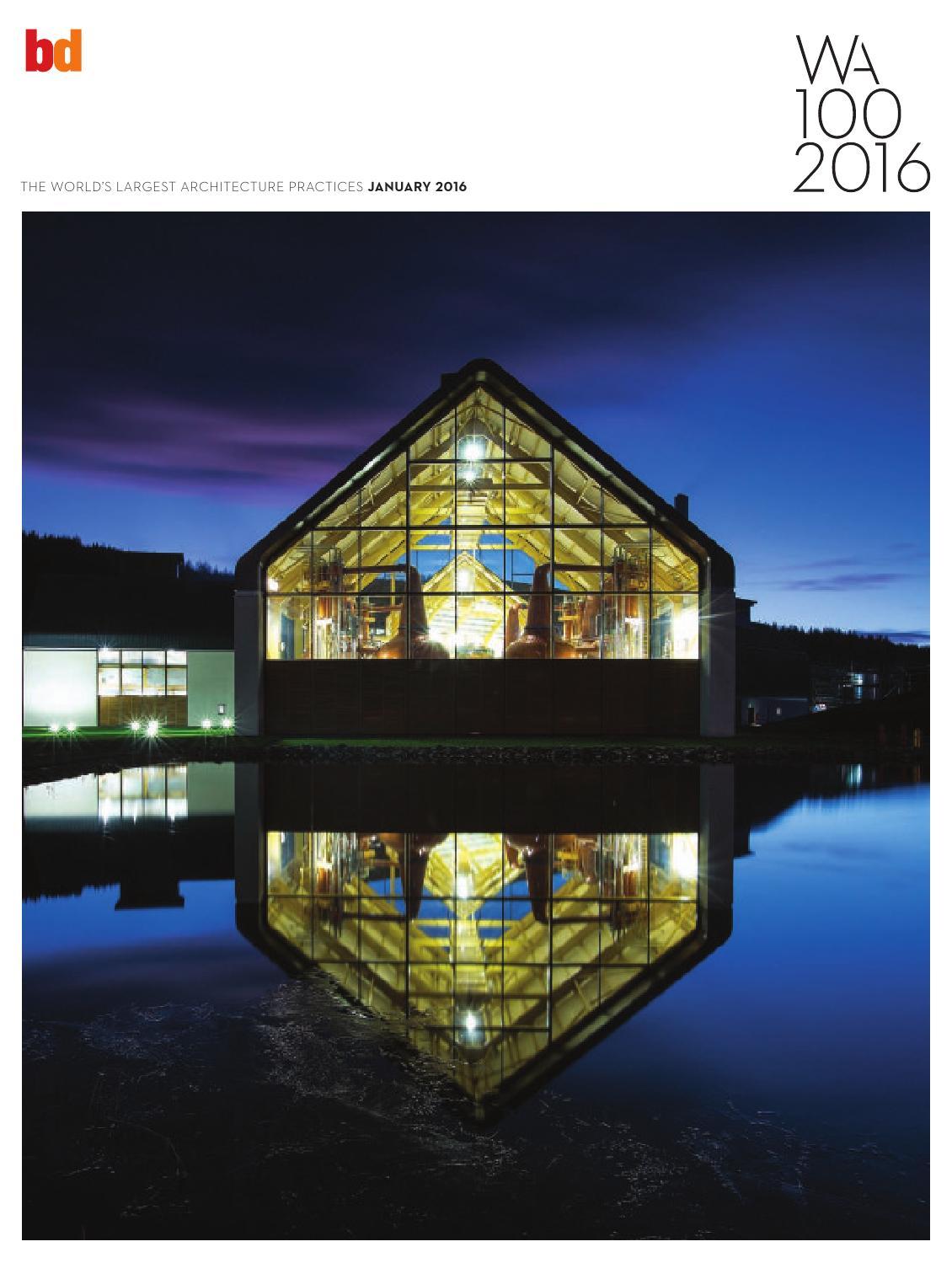 Wa100 2016 by gva arquitectos issuu - Gva arquitectos ...