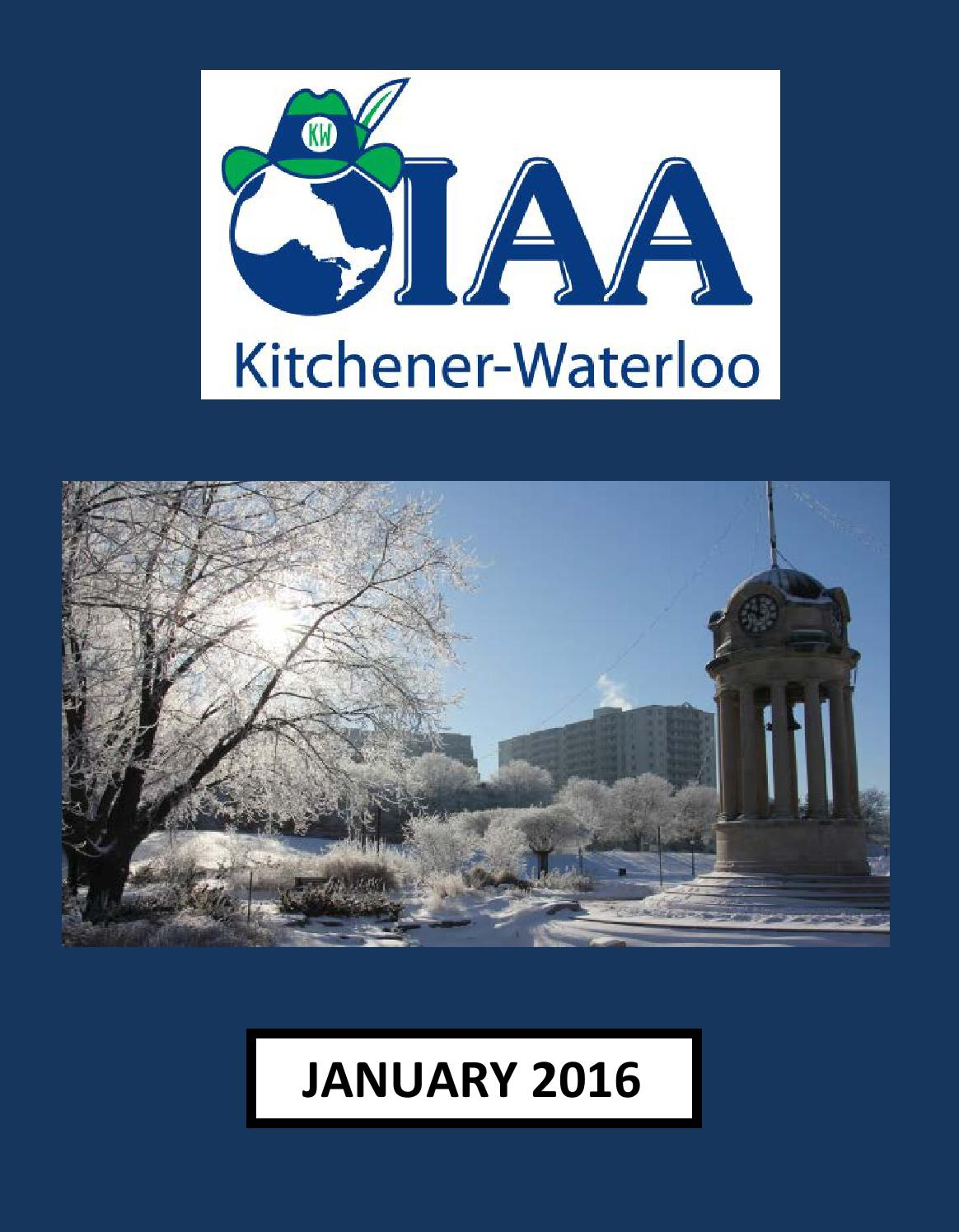 K-W OIAA Bulletin - January 2016 by K-W OIAA - issuu