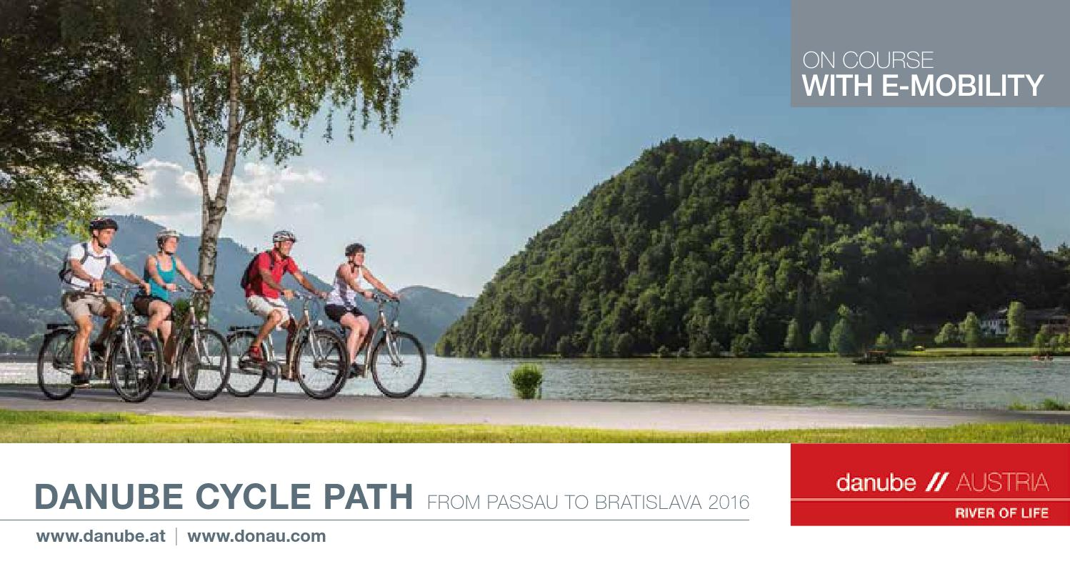 Danube Cycle Path 2016 by Silvia Ebner - issuu c8e0d061fc21d