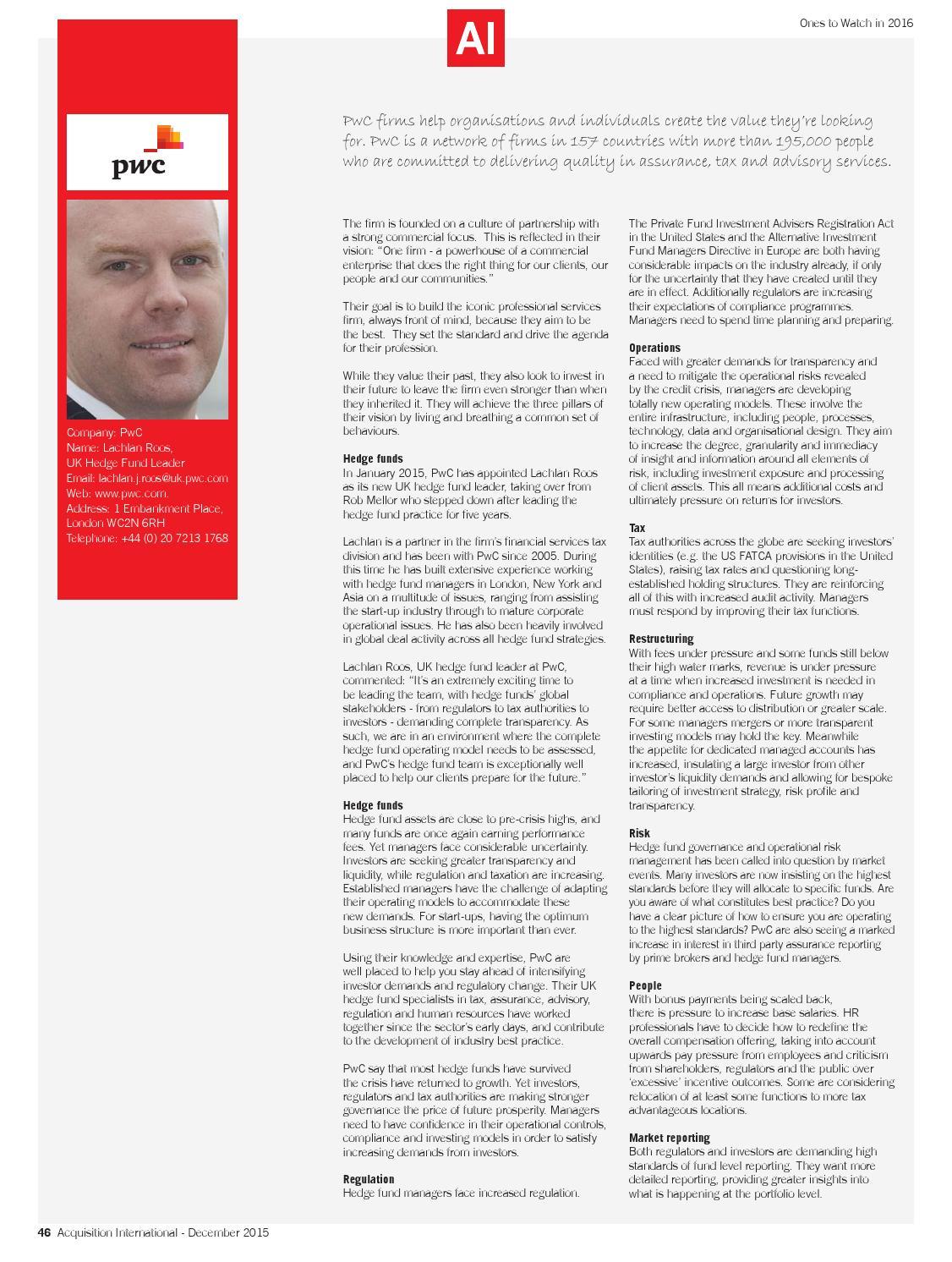 AI magazine December 2015 by AI Global Media - issuu