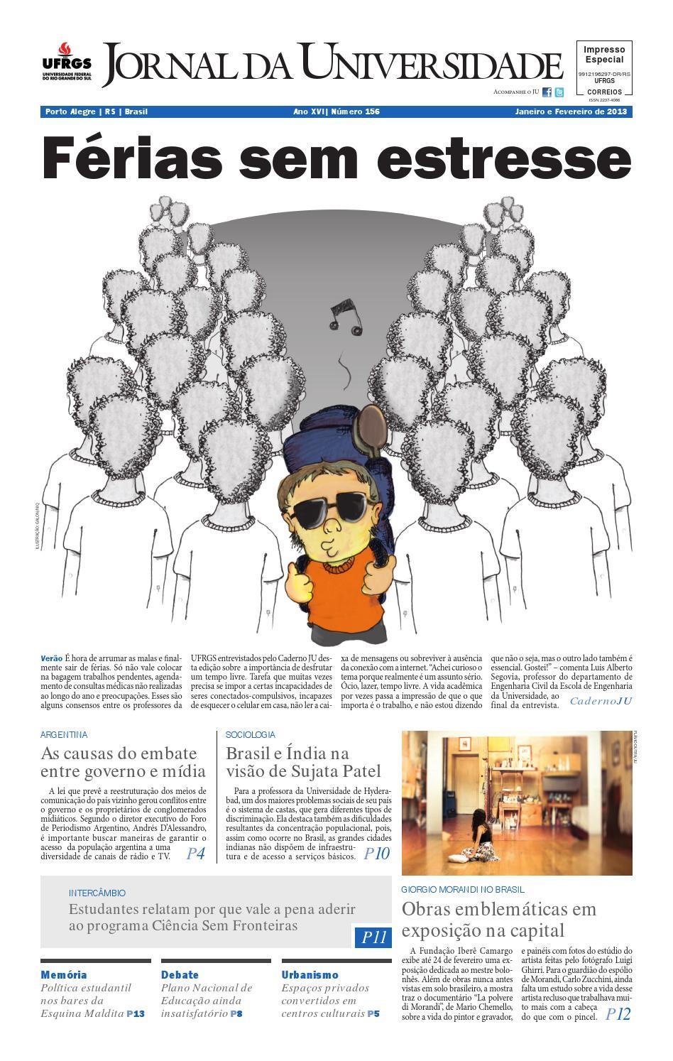 3e7f362847b Jornal da Universidade by Universidade Federal do Rio Grande do Sul - issuu
