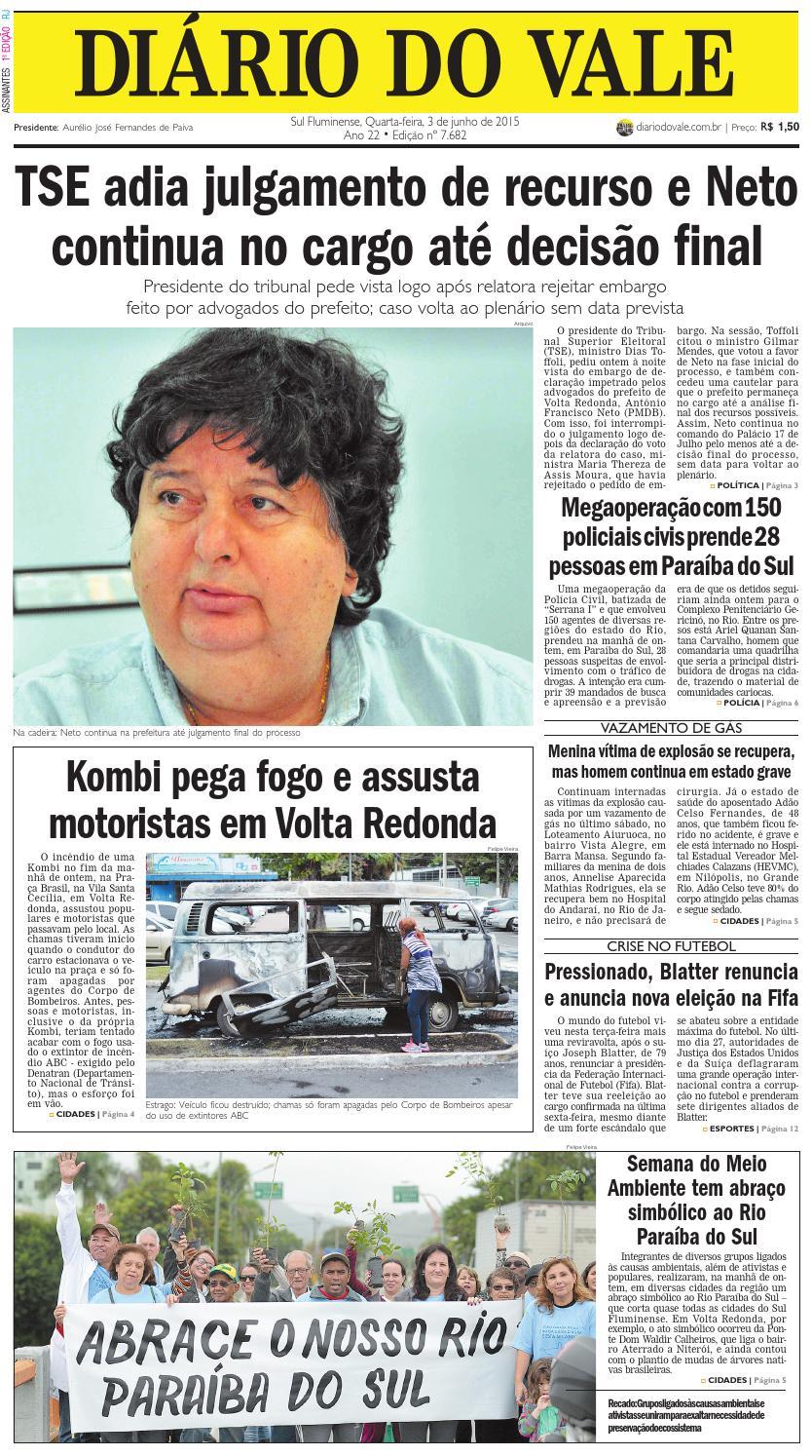 ebab9e601b 7682 diario quarta feira 03 06 2015 by Diário do Vale - issuu