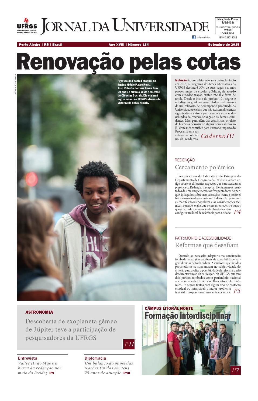 Jornal da Universidade by Universidade Federal do Rio Grande do Sul - issuu c20da6ba912b2