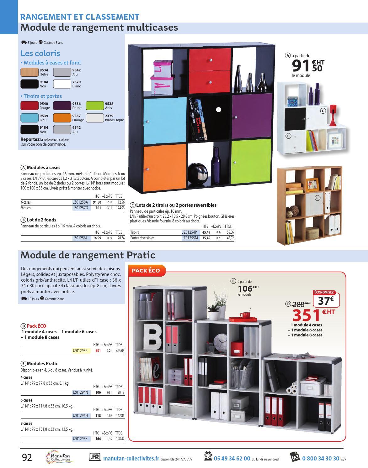 Andifany Bo/îte de rangement /à compartiments multiples en polypropyl/ène et polystyr/ène