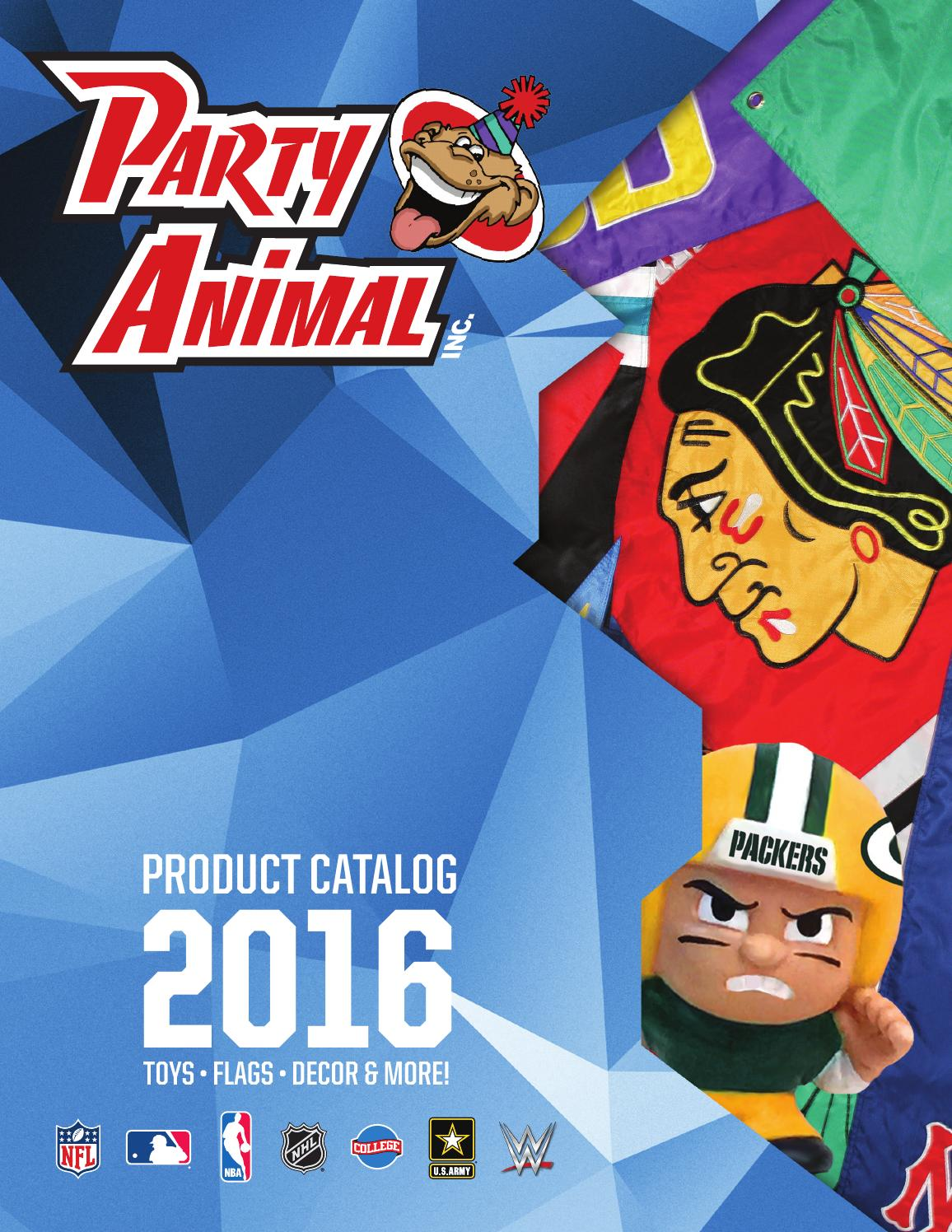 2016 Party Animal Catalog by Party Animal - issuu