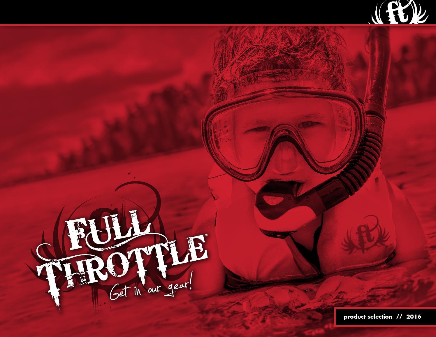 Blue//Black 112200-500-001-14 Full Throttle Child Watersports Vest