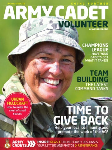3ddde4f36d3 Army Cadet Magazine winter 2015-16 by Army Cadets - issuu