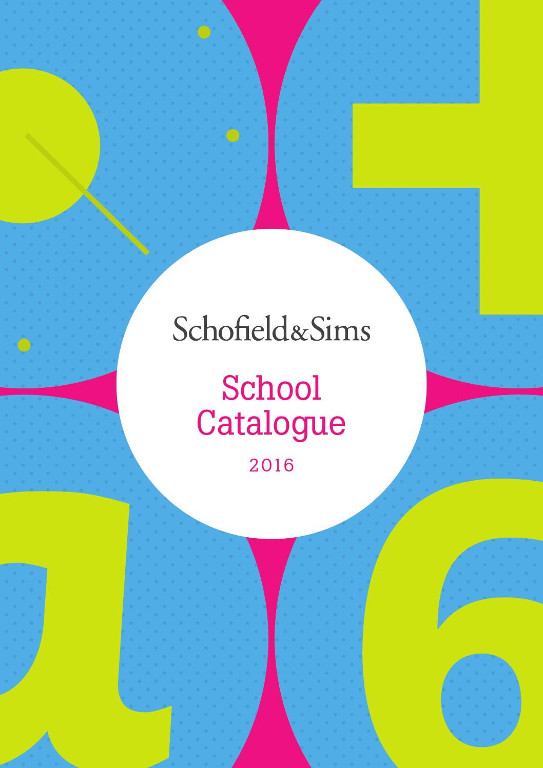 Schofield & Sims School Catalogue 2016 by Schofield & Sims - issuu