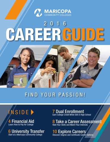 2016 Career Guide for Maricopa Community Colleges by The Maricopa ...