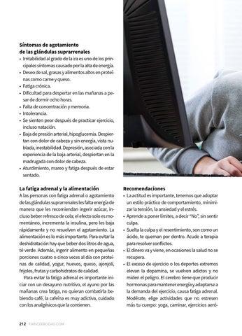 Presión arterial alta fatiga agotamiento