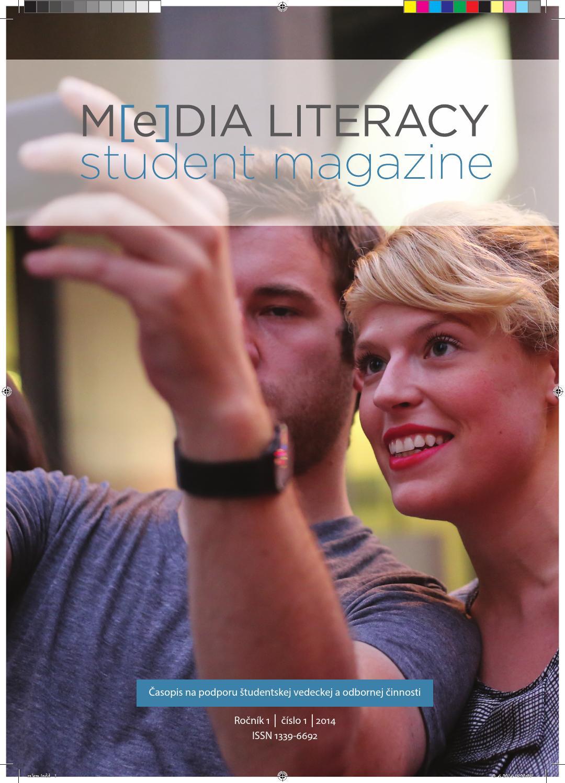 Media Literacy Student Magazine 01 2014 by medialnavychova.sk - issuu a2b61ca7531