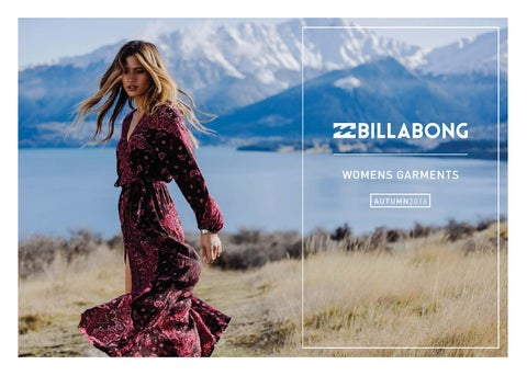 63785c1dbc89d Billabong South Africa - Womens Autumn 2016 by Billabong SA - issuu