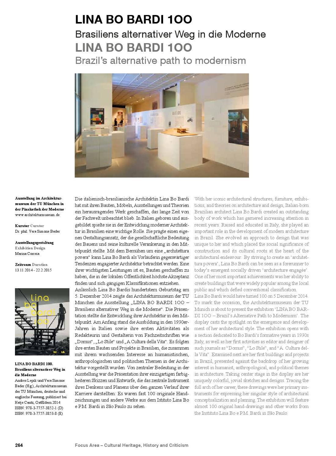 Jahrbuch 2015 By Fakultät Für Architektur TU München   Issuu