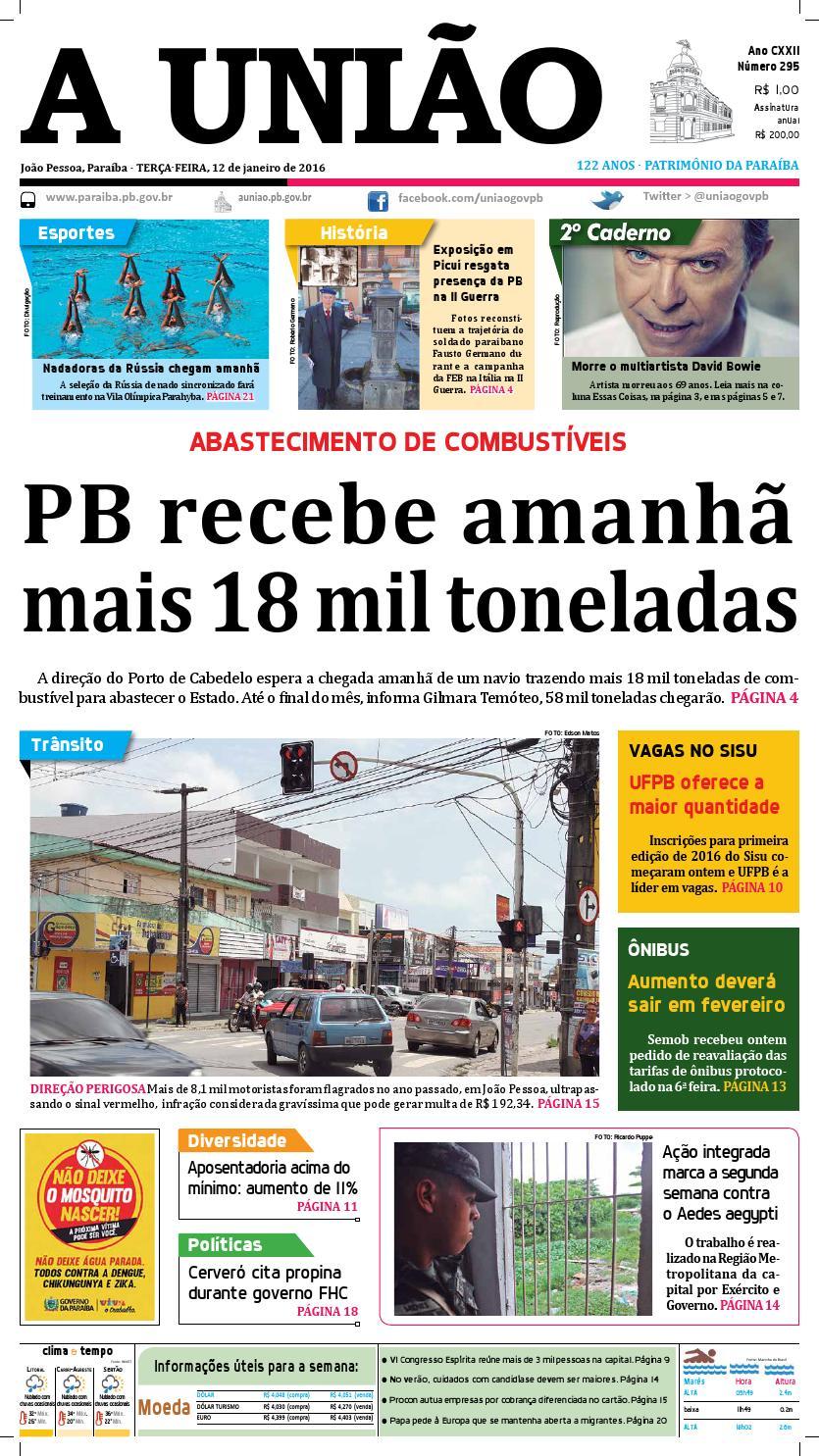 08497c2093 Jornal A União 12 01 16 by Jornal A União - issuu