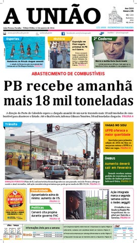 Jornal A União 12 01 16 by Jornal A União - issuu 95740b63f6a
