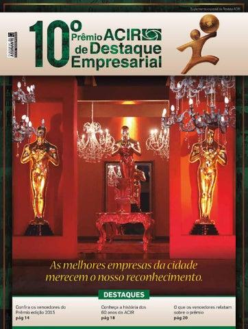 d7879cb220f Revista ACIR Destaque Empresarial by Rafael Vicentini - issuu