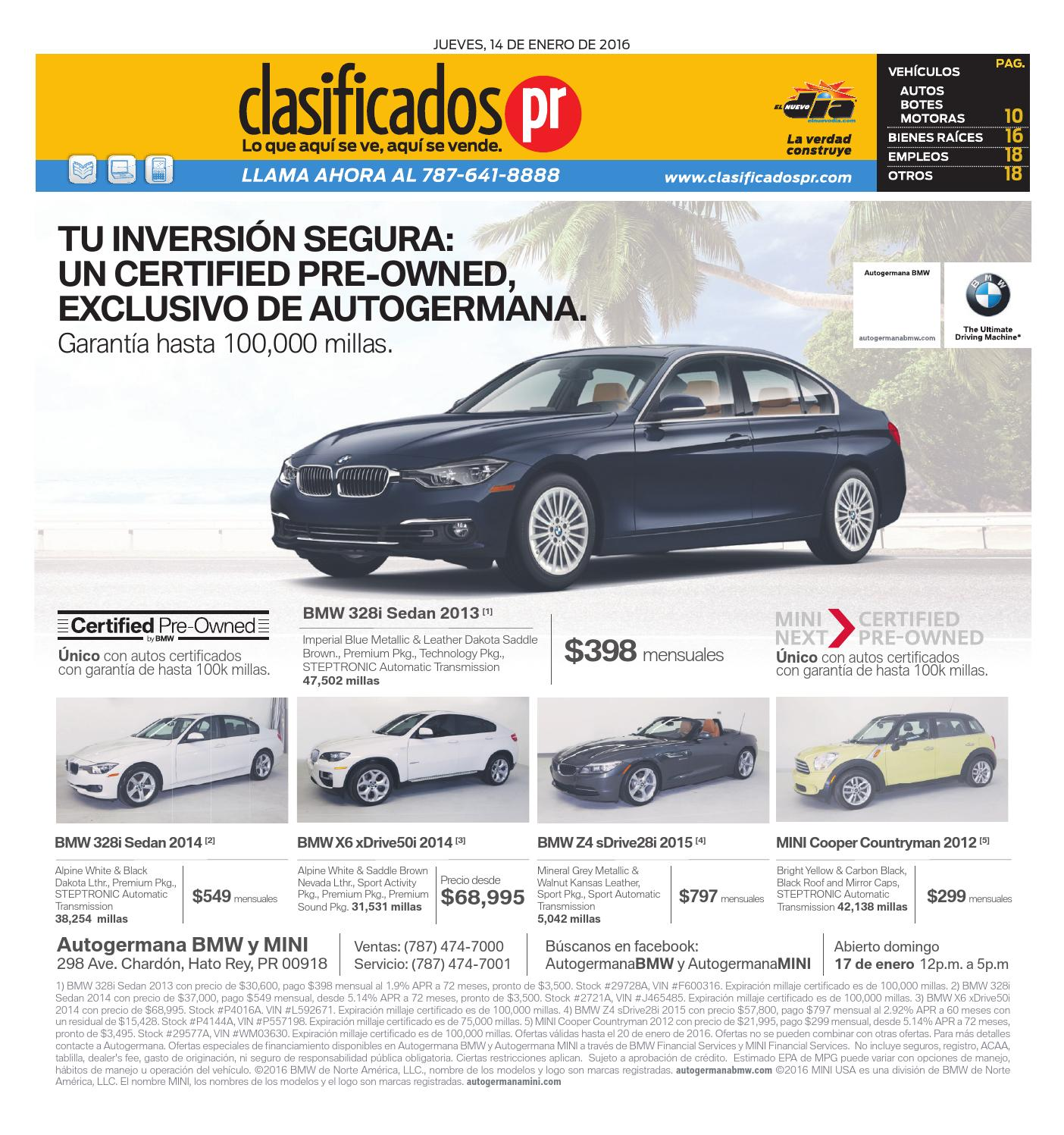 ClasificadosPR 01 14 2016 By ClasificadosPR.com