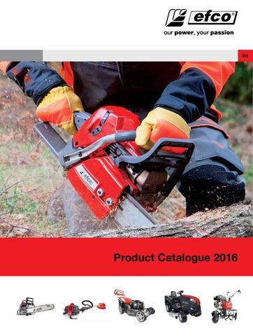 Efco - Product Catalogue 2016 by Emak Spa - issuu