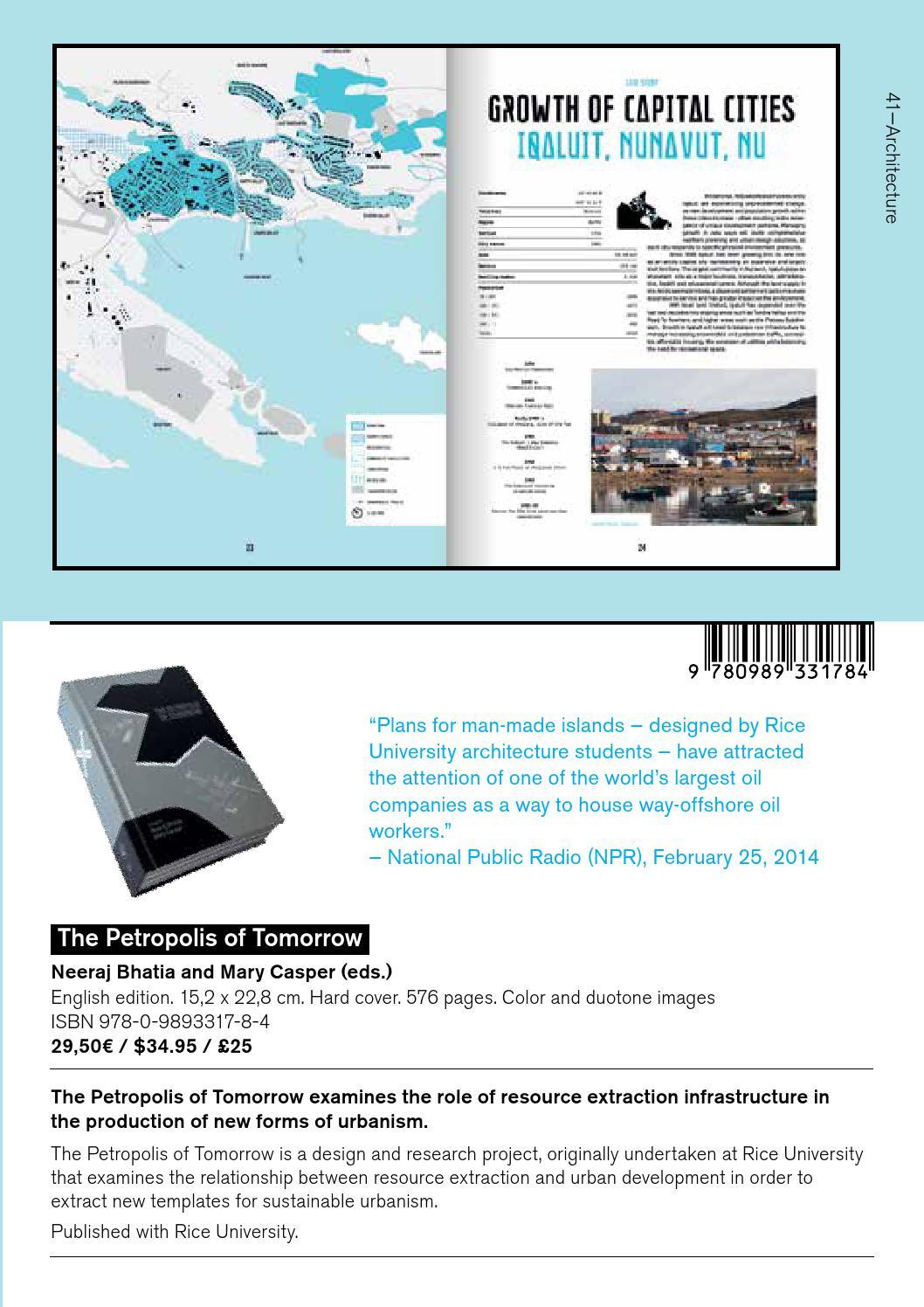 Catalog 2015 by Actar Publishers - issuu