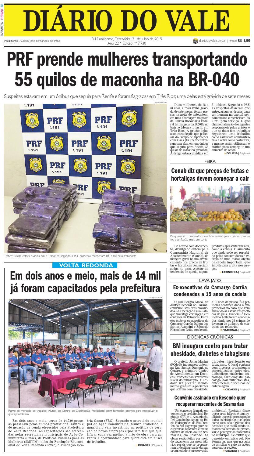 70d6e96480e 7730 diario terca feira 21 07 2015 by Diário do Vale - issuu