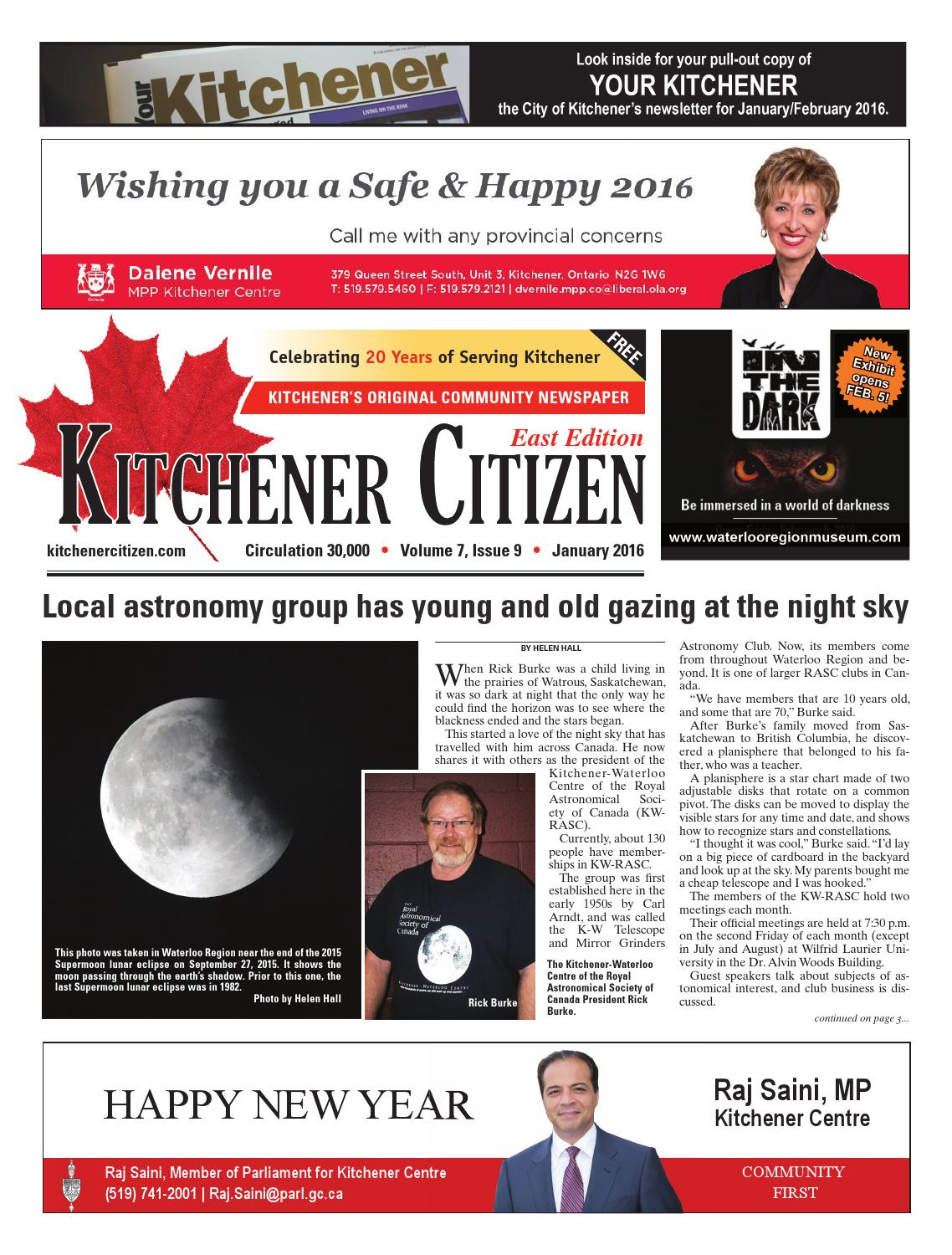 Kitchener Citizen - East Edition - January 2016 by Kitchener Citizen ...