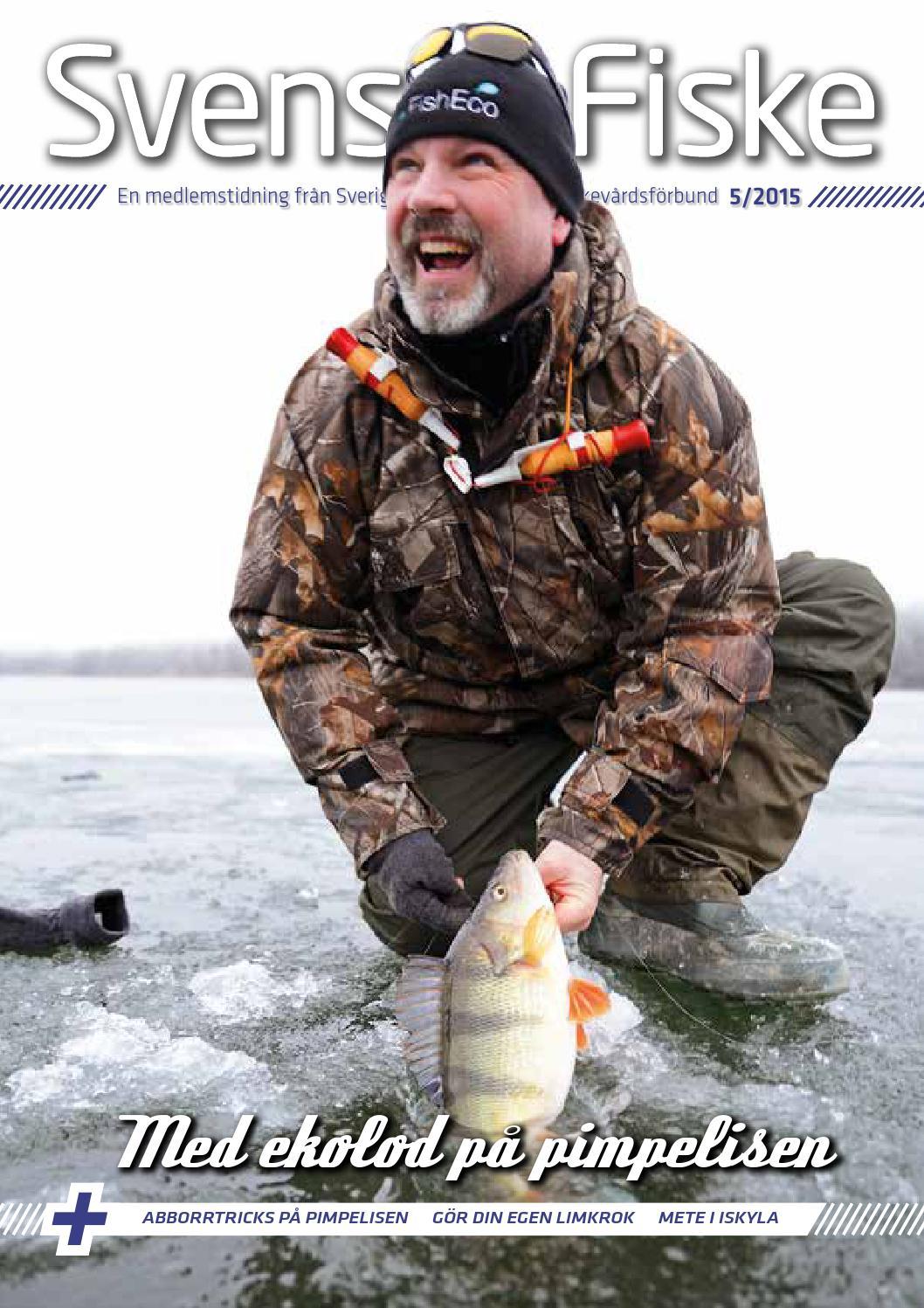 Svenskt Fiske nr 5 2015 by Sportfiskarna - issuu a89069e863c3f