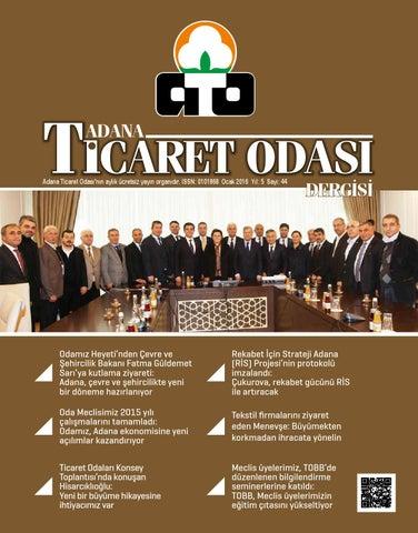 4b76dac2595bb Ato dergi sayi44 by Adana Ticaret Odası Dergisi - issuu