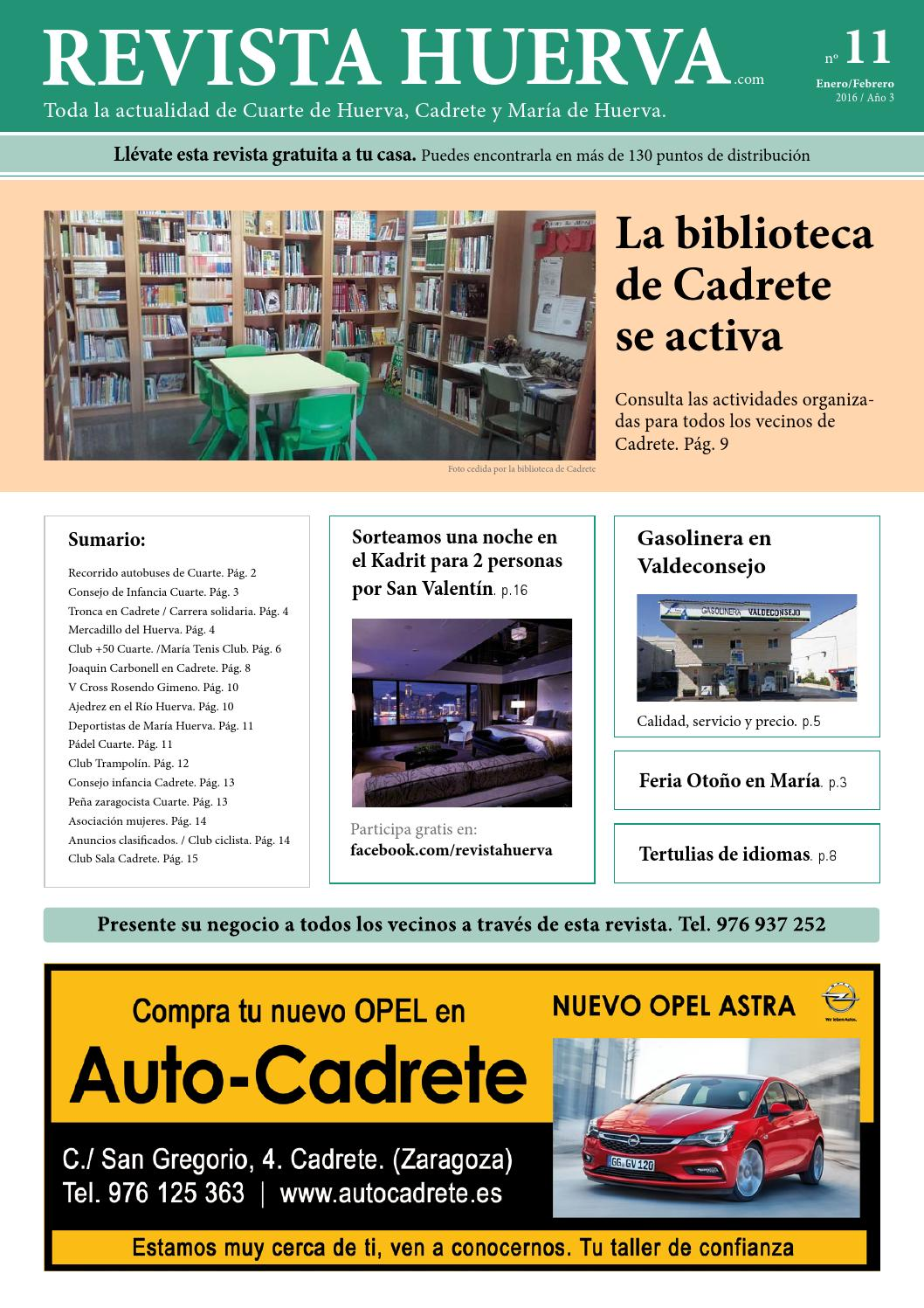 Revistahuerva11 by Revista Huerva - issuu