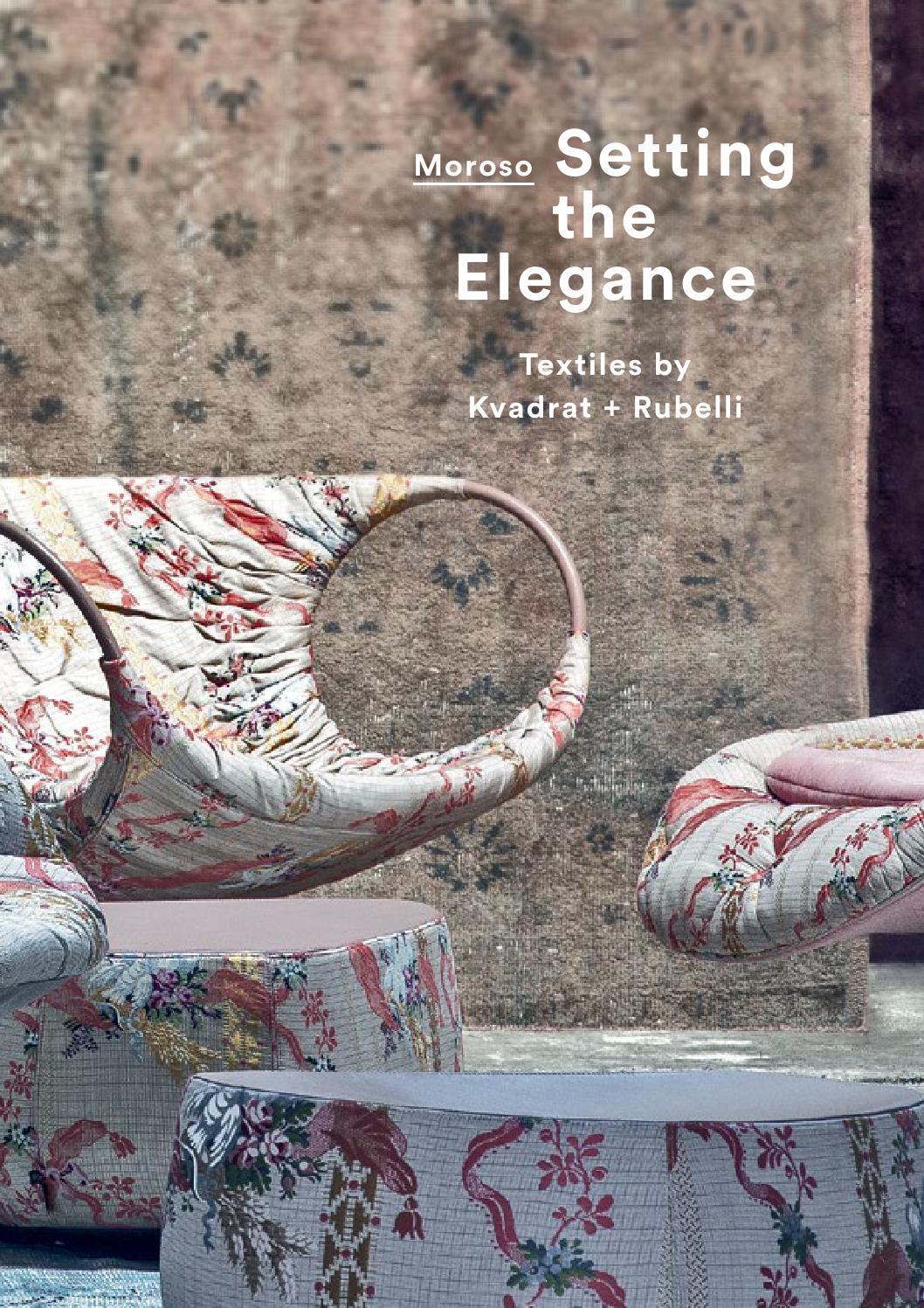 Manufacture Francaise Des Textiles D Ameublement setting the elegancemoroso - issuu
