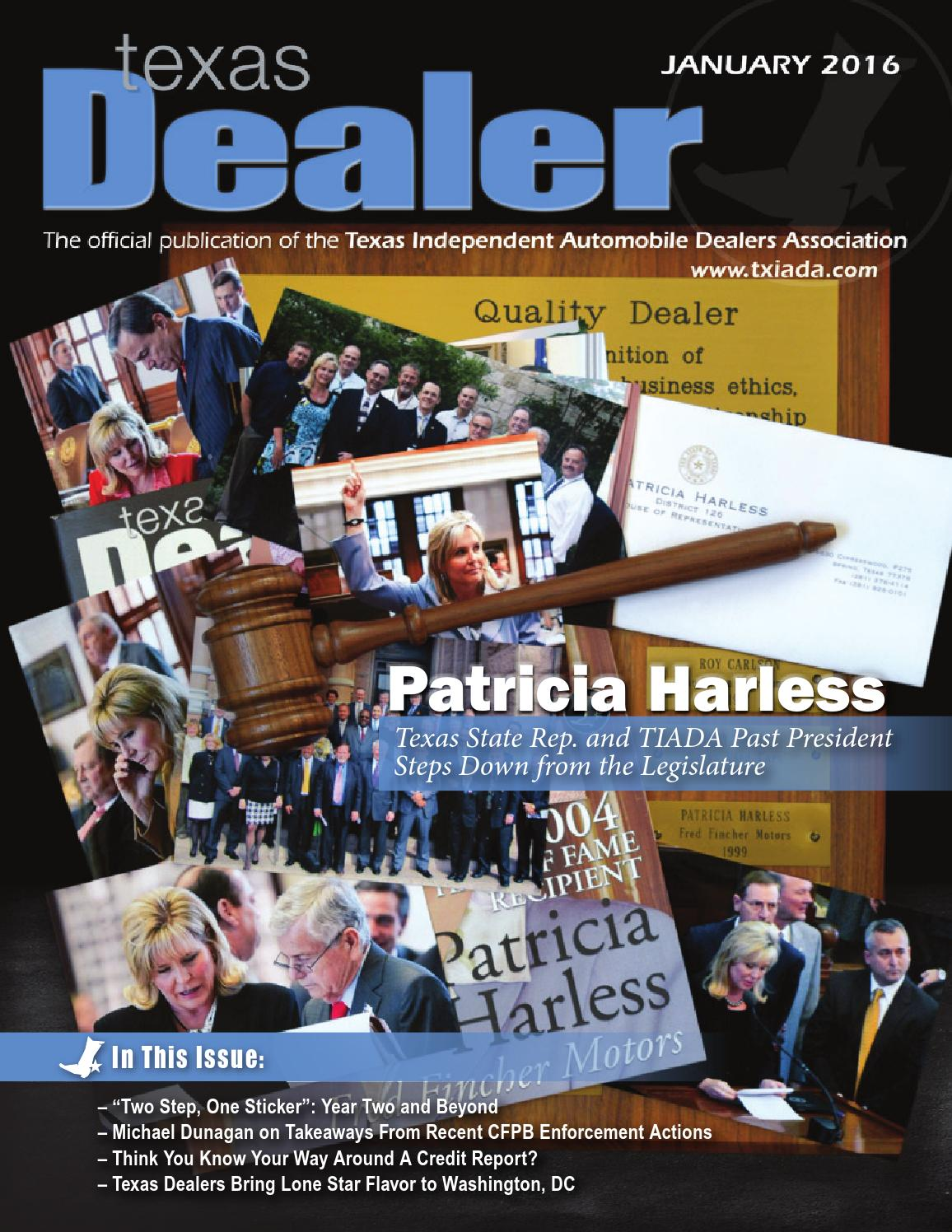 Texas Dealer January 2016 By Texas Independent Auto