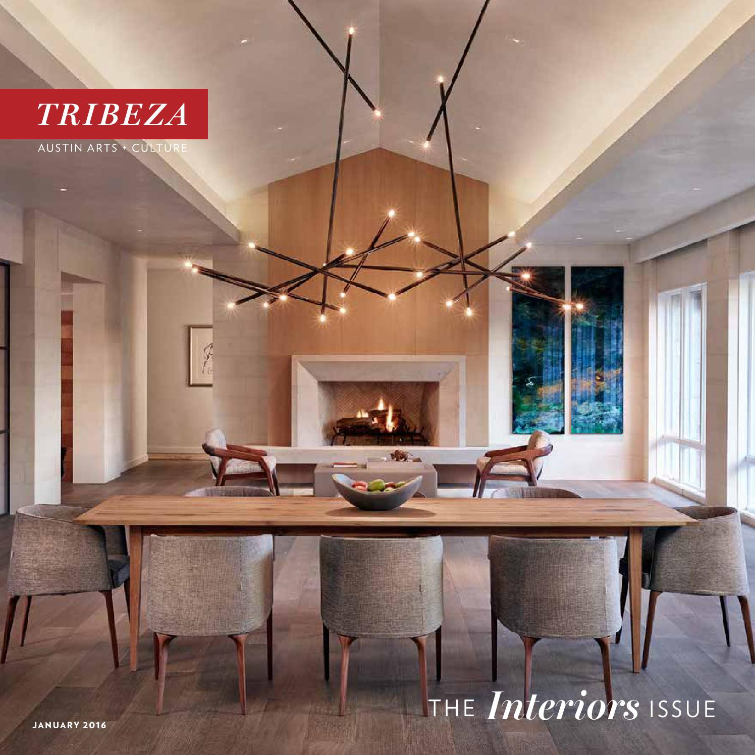 January 2016 Interiors Issue By TRIBEZA Austin Curated