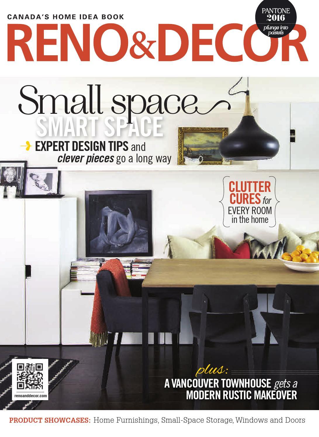 reno decor magazine feb mar 2016 by homes publishing group issuu