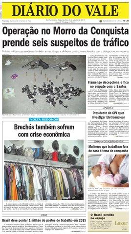 46a0cf7446f 7743 diario segunda feira 03 08 2015 by Diário do Vale - issuu