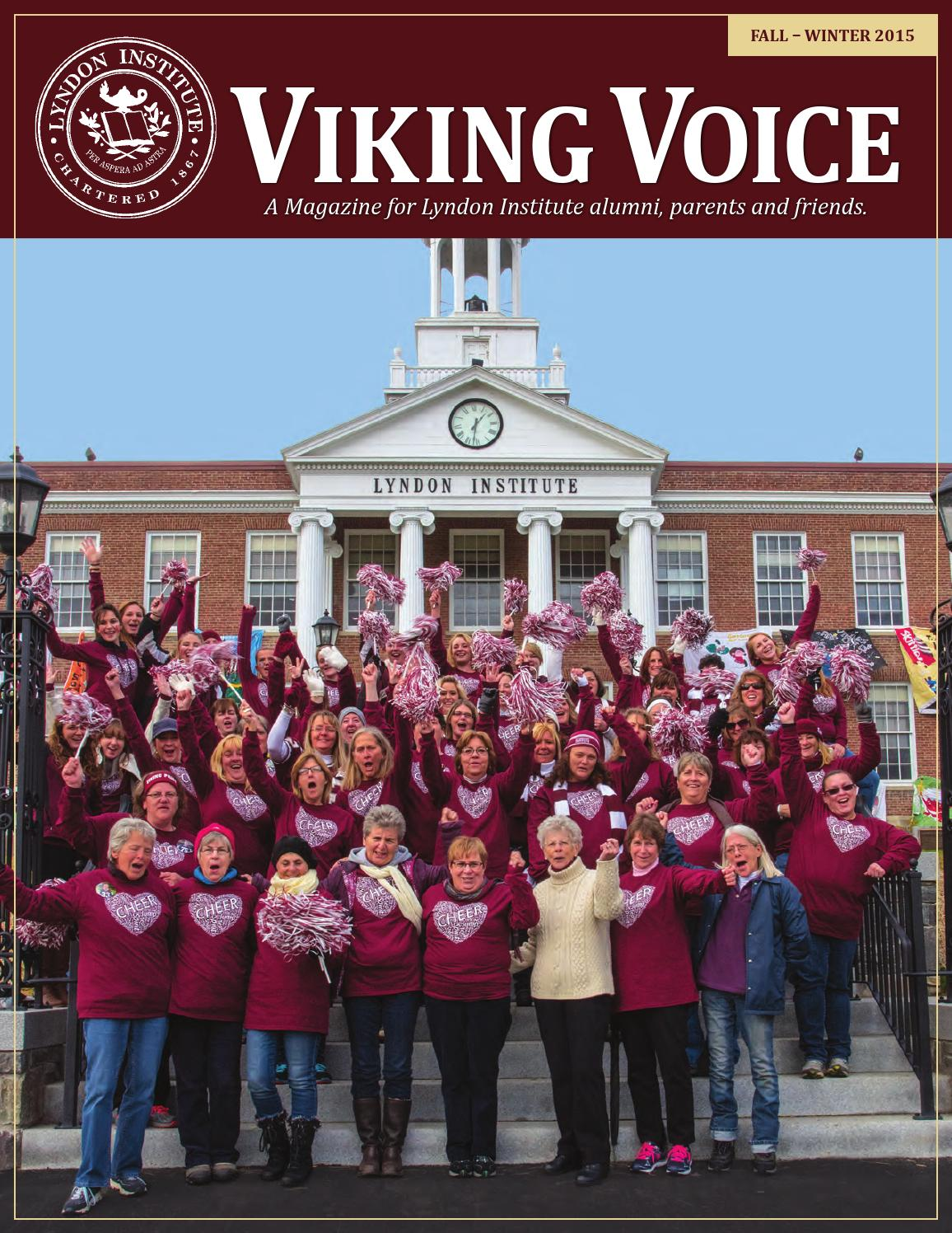 viking voice  fall 2015 by lyndon institute