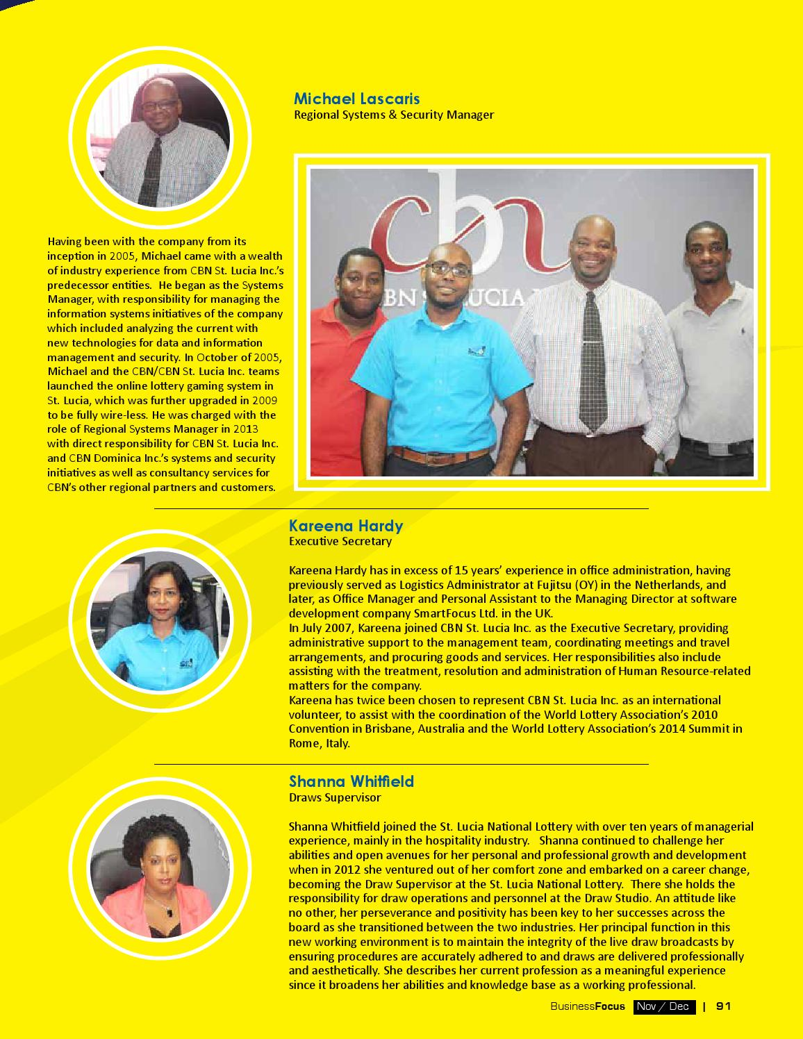 St lucia business focus 84 by ams st lucia issuu sciox Images