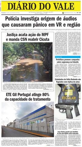 7752 diario quarta feira 12 08 2015 by Diário do Vale - issuu b249bb221e
