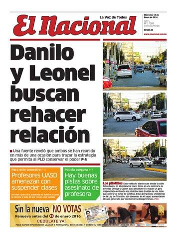 Impreso13 01 16 by Periodico El Nacional - issuu 509ff4b85cd5f