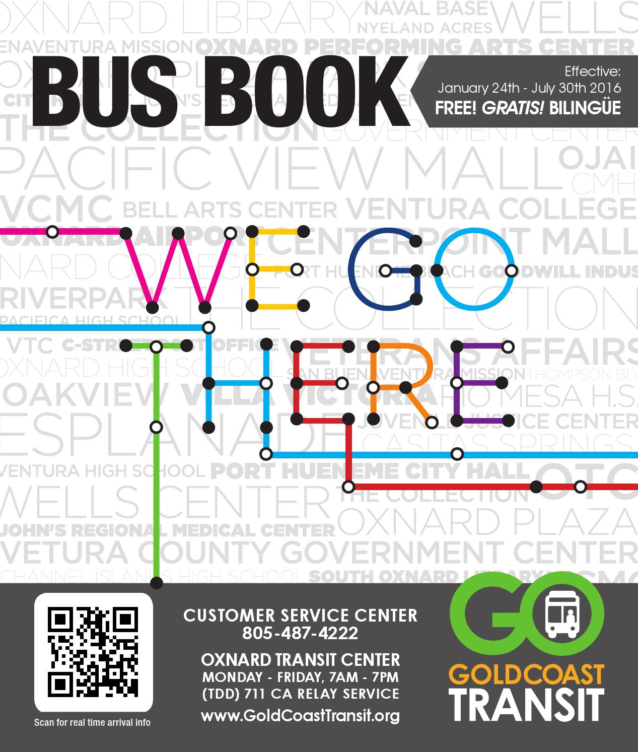 Bus Book Effective January 24, 2016 by Gold Coast Transit - issuu