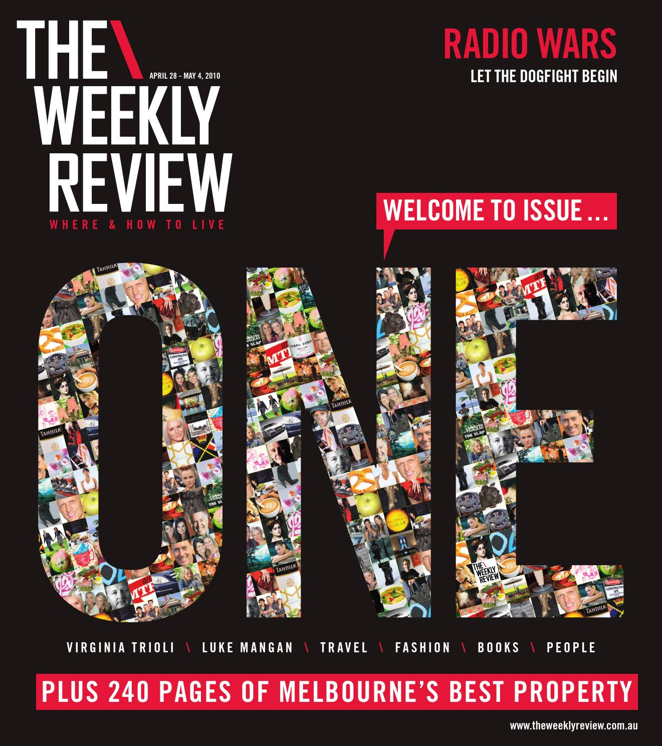 TWR Issue e by The Weekly Review issuu