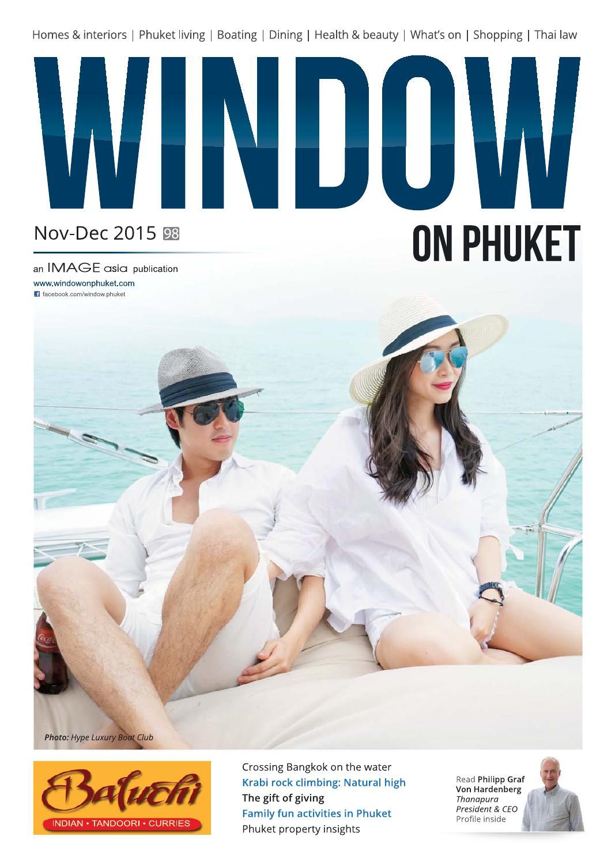 Window on Phuket November-December 2015 by WINDOW on Phuket