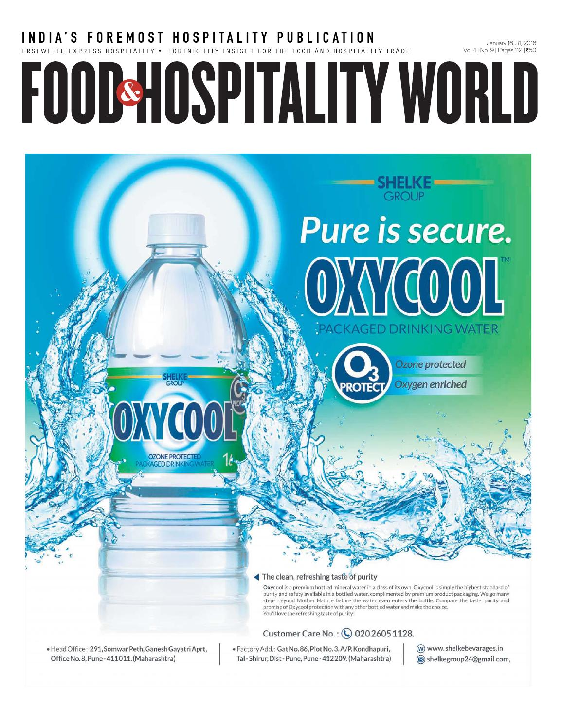 Food and Hospitality World (Vol.4, No.9) January 16-31, 2016 by ...