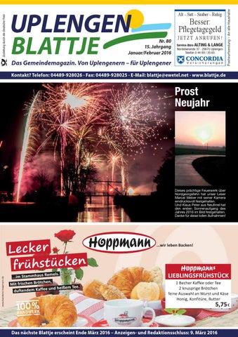 Uplengen Blattje Nr. 83 by Uplengen Blattje - issuu
