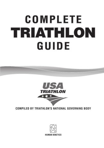1e3176bc7b188 Complete triathlon guide by Alain Lemay - issuu