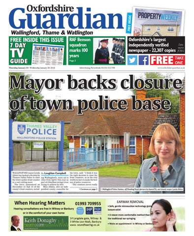 14 january 2016 oxfordshire guardian wallingford
