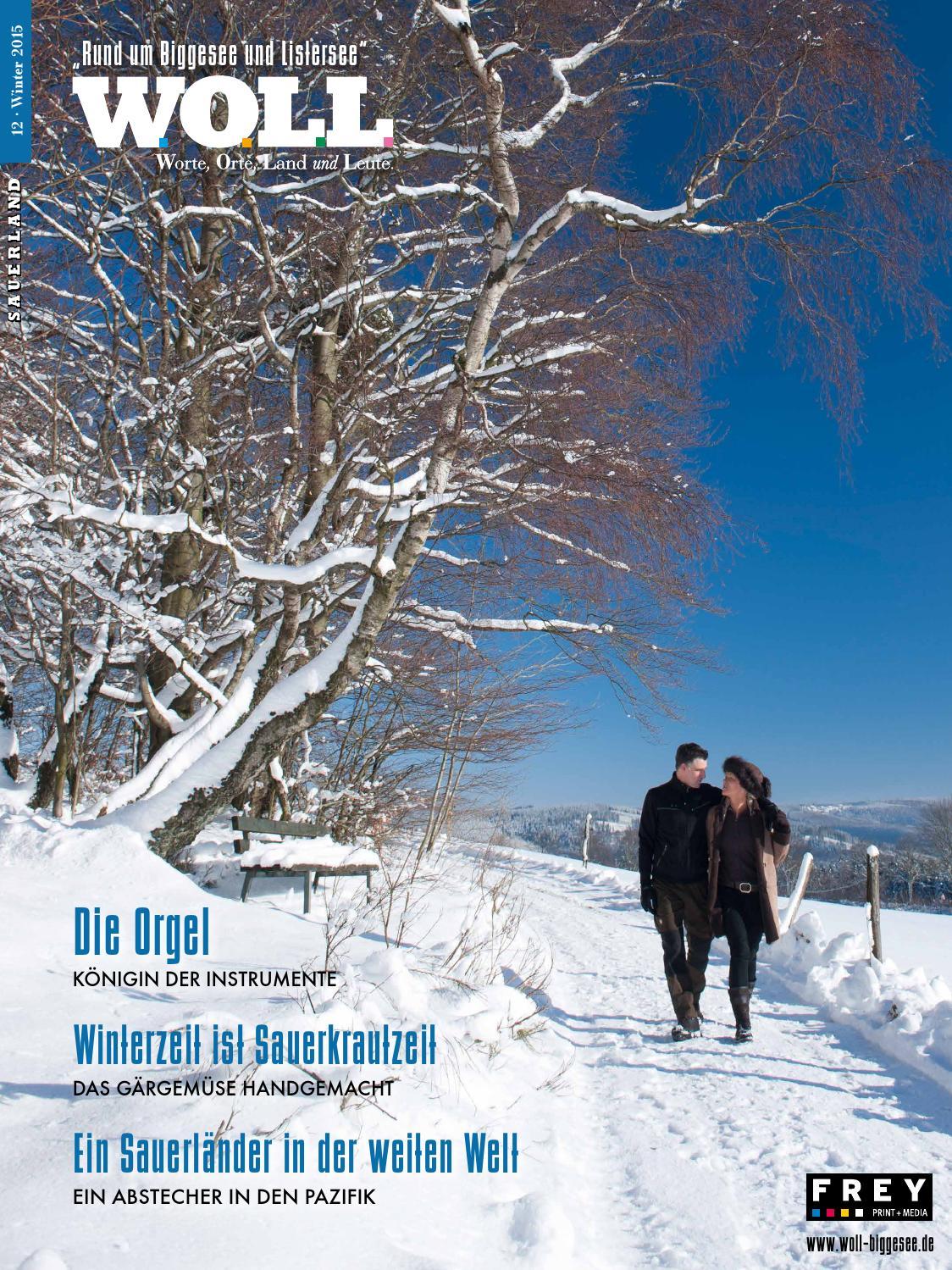 WOLL-Magazin – Rund um den Biggesee – Ausgabe 12 by FREY PRINT + ...
