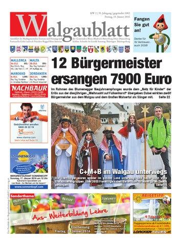 Walgaublatt 02 by Regionalzeitungs GmbH - issuu