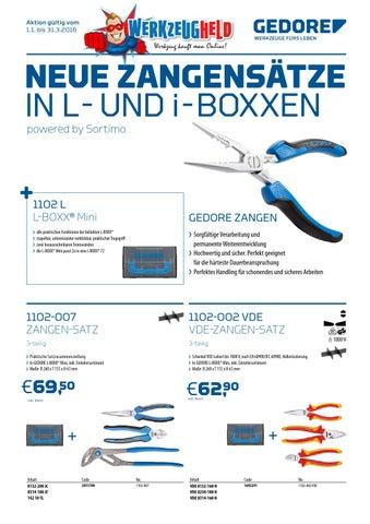 Gedore VDE-Mehrfachzange gewinkelt mit Hüllenisolierung 200 mm VDE 8131 ...