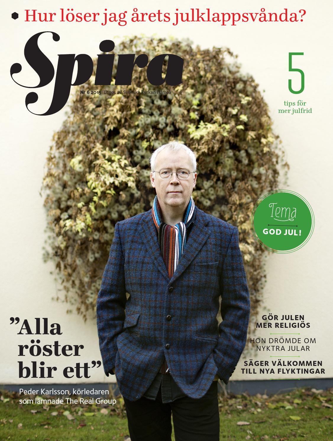 Spira nr 6 2015 by Tidningen Spira - issuu 8f50ee7355311