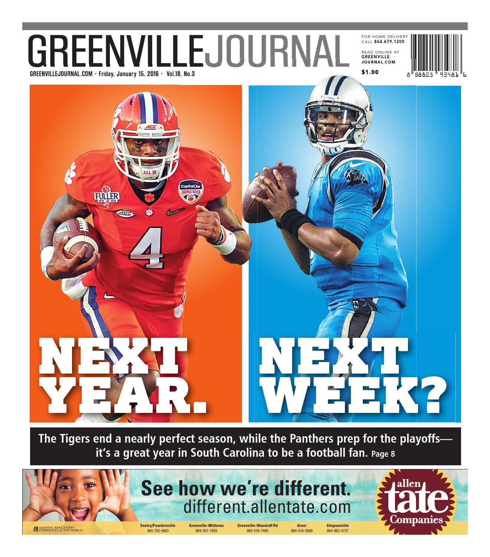 January 15, 2016 Greenville Journal