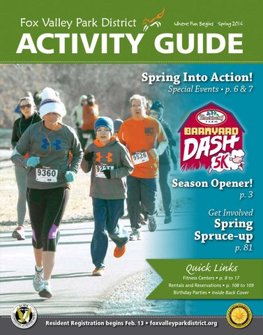 Fox Valley Park District FVPD Spring Act...